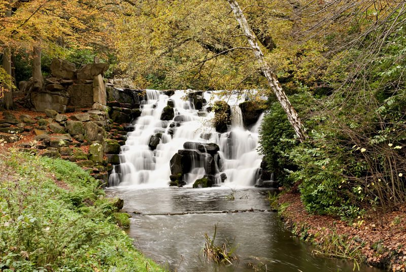 The Waterfall at Virginia Water